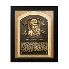 Baltimore Orioles Jim Palmer Baseball Hall of Fame Framed Plaque Print