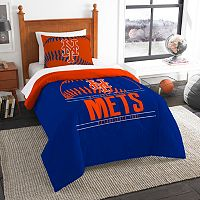 New York Mets Grand Slam Twin Comforter Set by Northwest