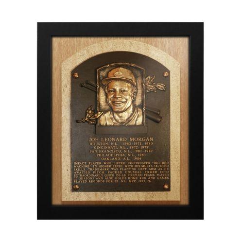 Cincinnati Reds Joe Morgan Baseball Hall of Fame Framed Plaque Print