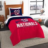 Washington Nationals Grand Slam Twin Comforter Set by The Northwest