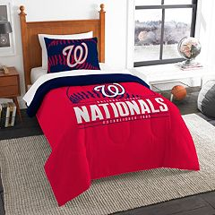 Washington Nationals Grand Slam Twin Comforter Set by Northwest