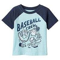 Baby Boy Jumping Beans® Colorblock Graphic Tee