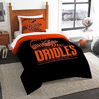 Baltimore Orioles Grand Slam Twin Comforter Set by Northwest