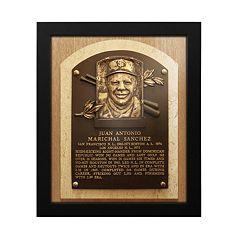 San Francisco Giants Juan Marichal Baseball Hall of Fame Framed Plaque Print