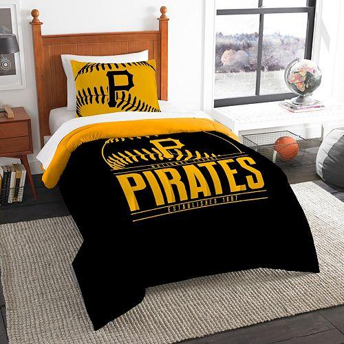 Pittsburgh Pirates Grand Slam Twin Comforter Set by Northwest