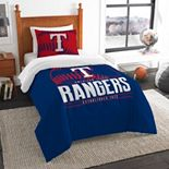 Texas Rangers Grand Slam Twin Comforter Set by The Northwest