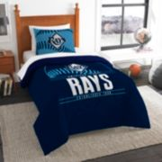 Tampa Bay Rays Grand Slam Twin Comforter Set by Northwest