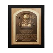 Texas Rangers Nolan Ryan Baseball Hall of Fame Framed Plaque Print