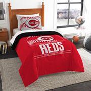 Cincinnati Reds Grand Slam Twin Comforter Set by Northwest