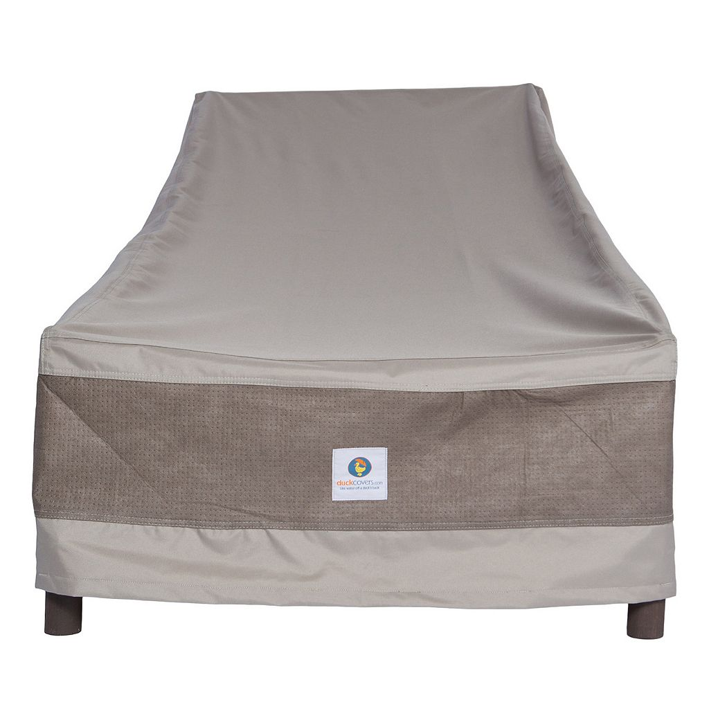 Duck Covers Elegant 74-in. Patio Chaise Lounge Chair Cover