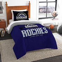 Colorado Rockies Grand Slam Twin Comforter Set by Northwest