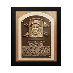 St. Louis Cardinals Ozzie Smith Baseball Hall of Fame Framed Plaque Print