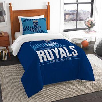 Kansas City Royals Grand Slam Twin Comforter Set by Northwest