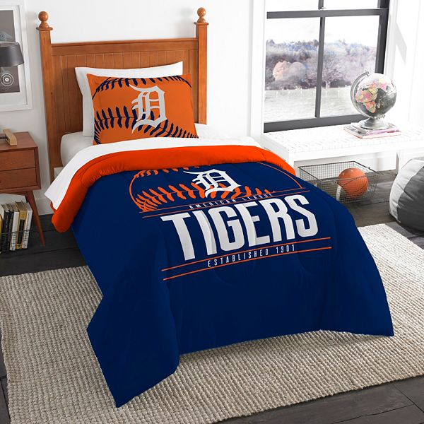 Detroit Tigers Grand Slam Twin Comforter Set By The Northwest