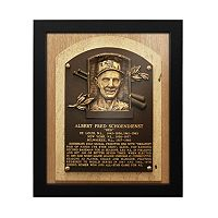 St. Louis Cardinals Red Schoendienst Baseball Hall of Fame Framed Plaque Print
