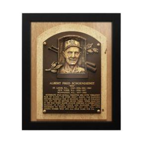 St. Louis Cardinals Red Schoendienst Baseball Hall of Fame Framed Plaque Print