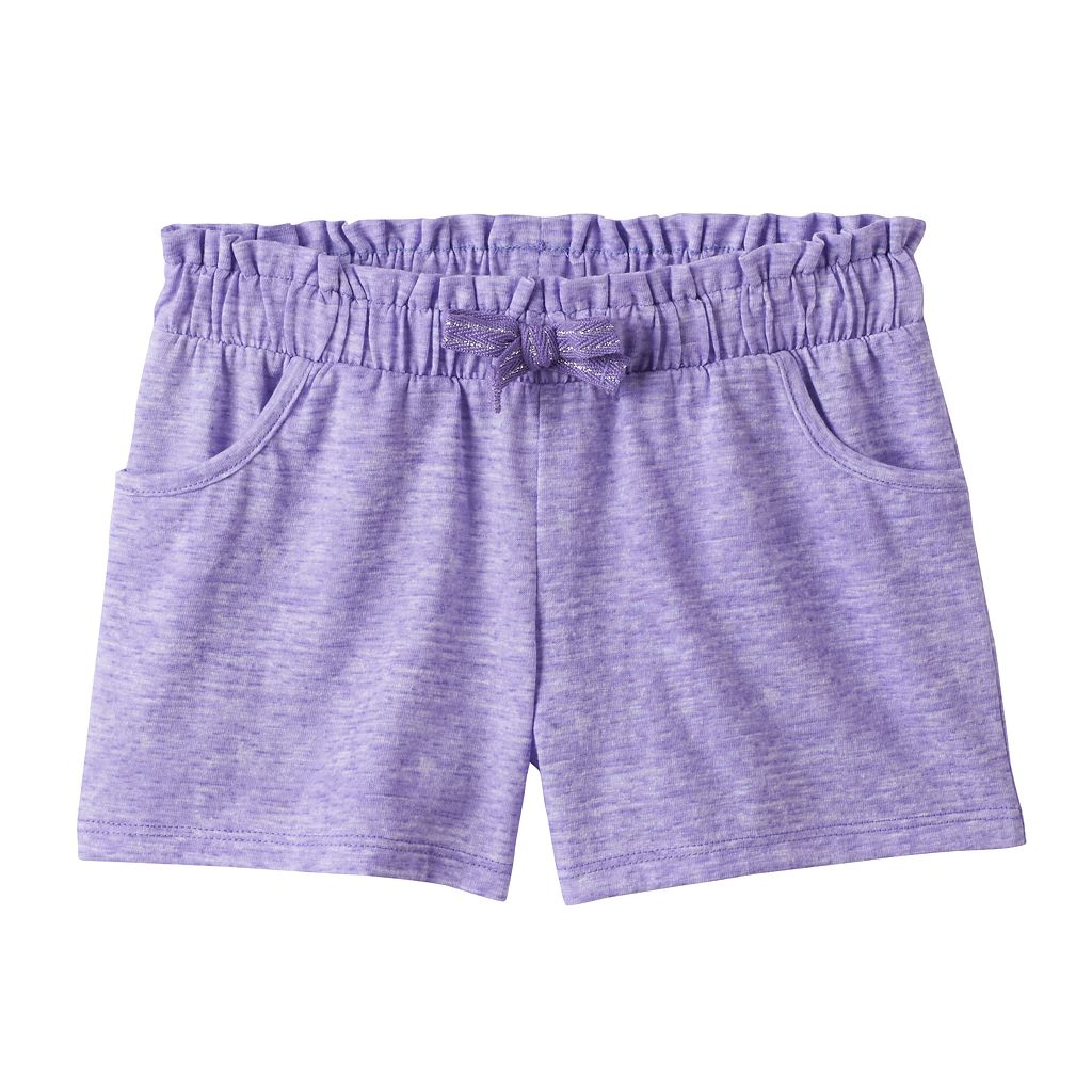 Girls 4-10 Jumping Beans® Space-Dyed Shorts