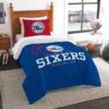 Philadelphia 76ers Reverse Slam Twin Comforter Set by Northwest