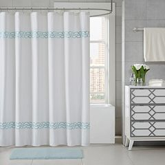 Madison Park Copula Embroidered Shower Curtain