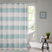 Urban Habitat Chapin Yarn Dyed Shower Curtain