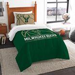 Milwaukee Bucks Reverse Slam Twin Comforter Set by Northwest