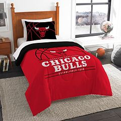 Chicago Bulls Reverse Slam Twin Comforter Set by Northwest