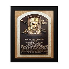 Philadelphia Phillies Richie Ashburn Baseball Hall of Fame Framed Plaque Print