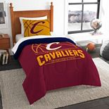 Cleveland Cavaliers Reverse Slam Twin Comforter Set by The Northwest