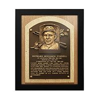 Boston Red Sox Rick Ferrell Baseball Hall of Fame Framed Plaque Print