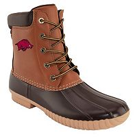 Men's Arkansas Razorbacks Duck Boots