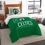 Boston Celtics Reverse Slam Twin Comforter Set by The Northwest