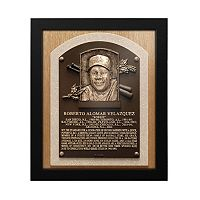 Toronto Blue Jays Roberto Alomar Baseball Hall of Fame Framed Plaque Print