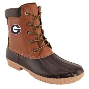Men's Georgia Bulldogs Duck Boots