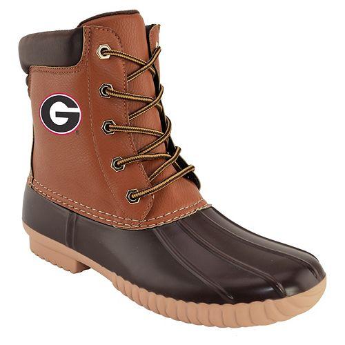 cc60f63f1e8 Men's Georgia Bulldogs Duck Boots
