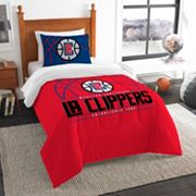 Los Angeles Clippers Reverse Slam Twin Comforter Set by Northwest