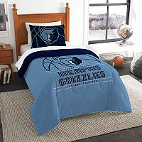 Memphis Grizzlies Reverse Slam Twin Comforter Set by Northwest