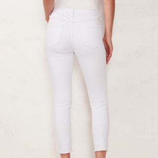 Women's LC Lauren Conrad Ripped Skinny Ankle Jeans