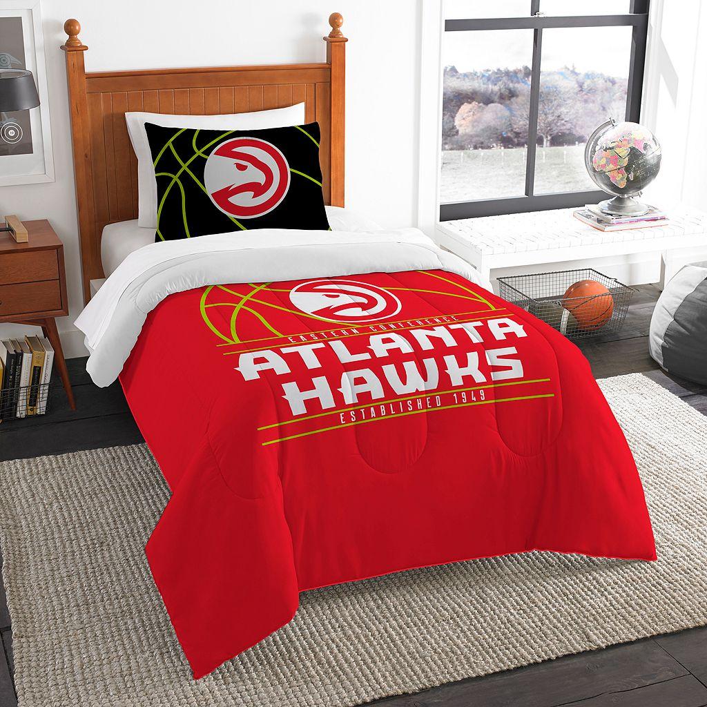 Atlanta Hawks Reverse Slam Twin Comforter Set by Northwest