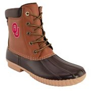 Men's Oklahoma Sooners Duck Boots