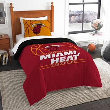 Miami Heat Reverse Slam Twin Comforter Set by Northwest