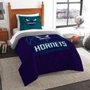 Charlotte Hornets Reverse Slam Twin Comforter Set by Northwest