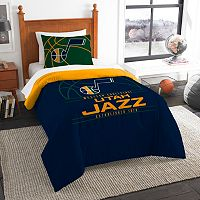 Utah Jazz Reverse Slam Twin Comforter Set by Northwest