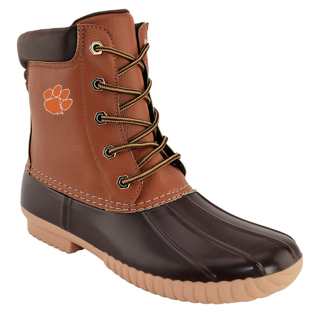 Men's Clemson Tigers Duck Boots