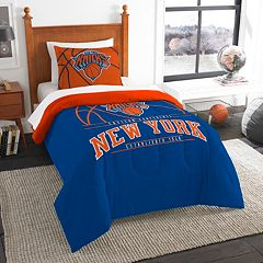 New York Knicks Reverse Slam Twin Comforter Set by Northwest