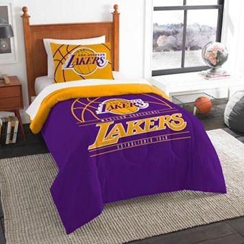 Los Angeles Lakers Reverse Slam Twin Comforter Set by Northwest