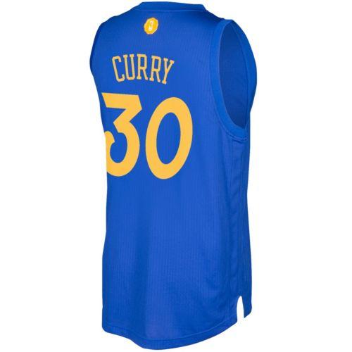 Men's adidas Golden State Warriors Stephen Curry Swingman NBA Replica Jersey