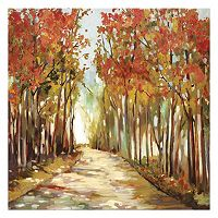 Artissimo Sunny Path Canvas Wall Art