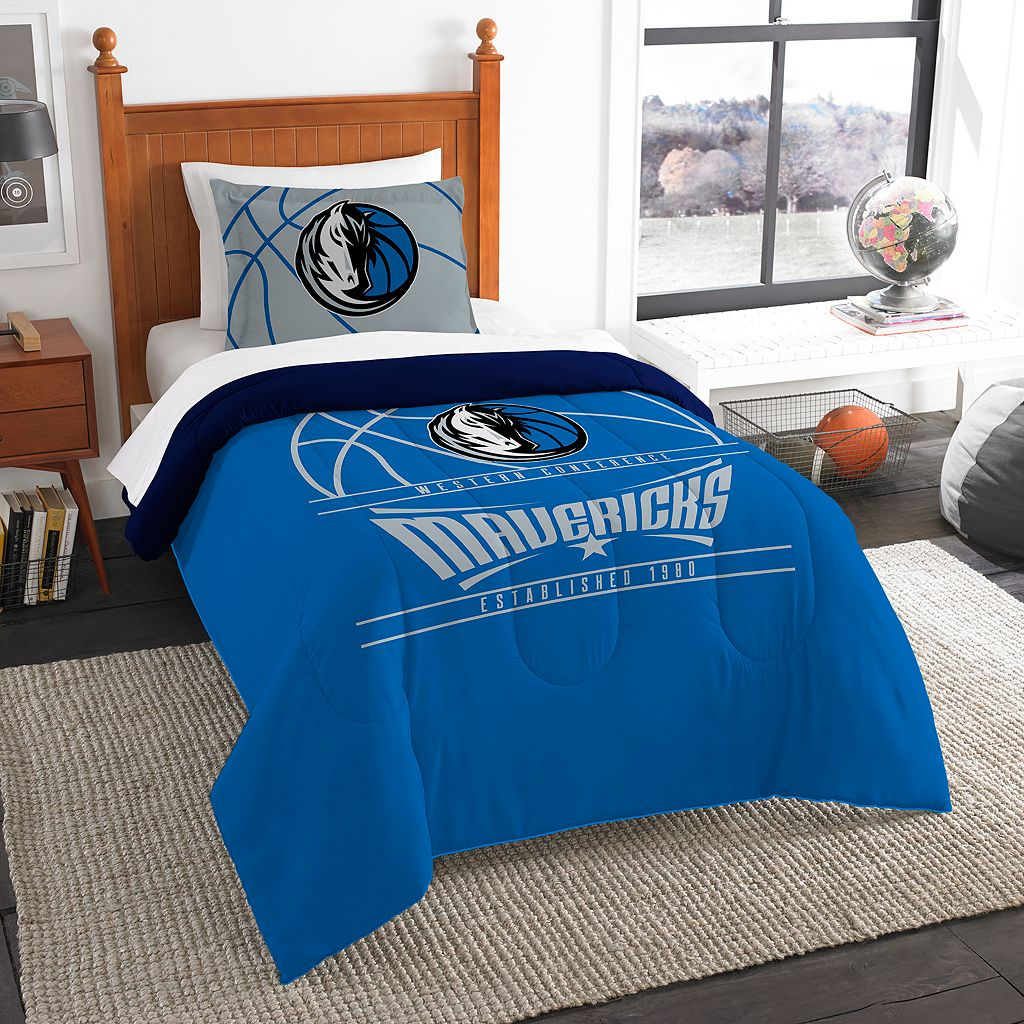 Dallas Mavericks Reverse Slam Twin Comforter Set by Northwest