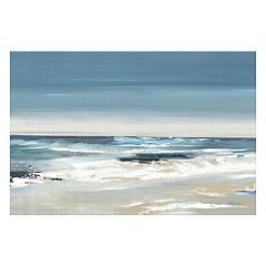 Artissimo East Coast II Canvas Wall Art