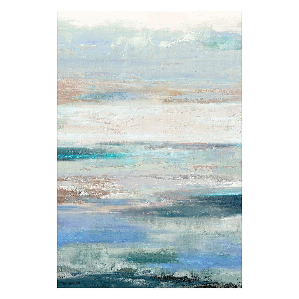 Artissimo Waves Canvas Wall Art